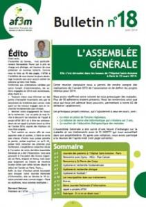 Bulletin AF3M n°18 juin 2014