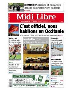 Midi Libre - 30 septembre 2016