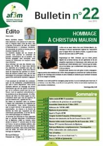 Bulletin AF3M n°22 mai 2015