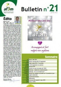 Bulletin AF3M n°21 janvier 2015