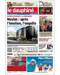 Dauphiné Libéré - 14 octobre 2017
