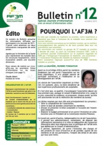 Bulletin AF3M n°12 octobre 2012