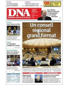 Dernières Nouvelles d'Alsace - 21 juin 16