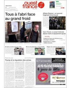 Ouest France - 26 février 2018