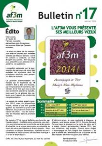 Bulletin AF3M n°17 janvier 2014