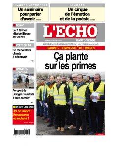 L'Echo Haute Vienne - 3 février 2018
