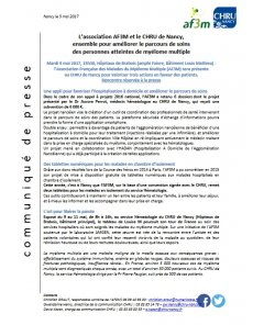 CP CHRU Nancy & AF3M