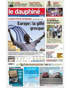 Dauphiné Libéré - 6 juillet 2015