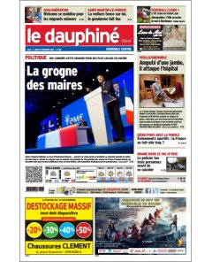 Dauphiné Libéré - 21 octobre 2017