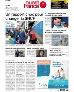 Ouest France - 16 février 2018