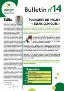 Bulletin AF3M n°14 mai 2013