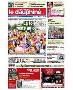 Dauphiné Libéré - 21 octobre 2018