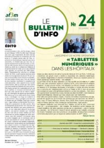 Bulletin AF3M n°24 décembre 2015