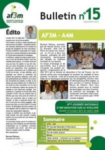 Bulletin AF3M n°15 septembre 2013