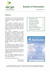 Bulletin AF3M n°4 octobre 2009