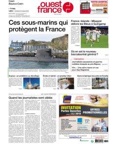 Ouest France - 12 octobre 2018