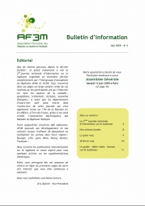 Bulletin AF3M n°3 mai 2009