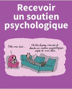 Recevoir un soutien psychologique
