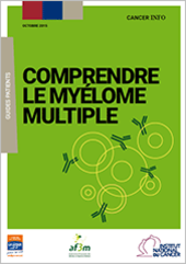 PDF guide INCa Comprendre le Myélome Multiple