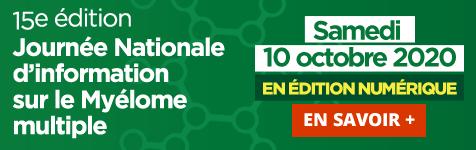 JNM 2020 (Journée nationale du myélome)